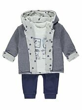 Boys 3 Piece Reversible Jacket Puppy Set Size 12-18 Months *New with Tags*