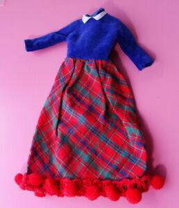 Vintage Skipper Platter Party Dress MINT