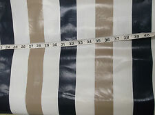 5 M Striped Oilcloth PVC Vinyl Wipe Clean Tablecloth Covering Shabby Chic French