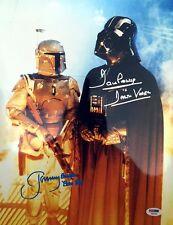JEREMY BULLOCH & DAVID DAVE PROWSE DUAL SIGNED 11x14 PHOTO STAR WARS PSA/DNA