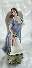 Grandeur Noel O'Well Porcelain Angel & Bell 12.5�