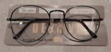 Vintage Deja Vu DV-820 Ant Blue 52/22 P3 Metal Eyeglass Frame New/Old Stock #240