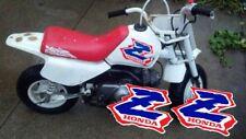 Honda Z50 tank graphics, reproduction 1994 SUPER high tack (2)