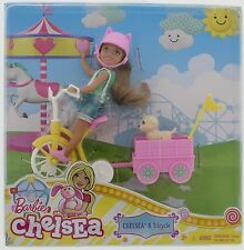 Barbie Sister Chelsea Pup & Tricycle   3+  New  dwv60