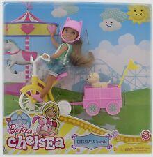 Barbie Sister Chelsea Pup & Tricycle   3+  New  dwv60