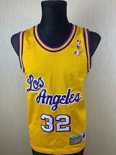 LAKERS LOS ANGELES NBA MAGIC JOHNSON BASKETBALL SHIRT JERSEY CHAMPION SIZE S