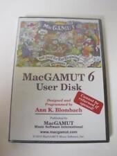 MacGAMUT 6 User Disk Not Just For Ear Training Anymore CD-ROM NEW 9781886997219