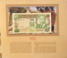 Most Treasured Banknotes Kenya 10 Shillings 1985 P 20d UNC prefix E/20