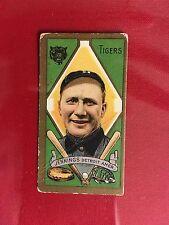 1911 T205 GOLD BORDER #95 HUGHIE JENNINGS PIEDMONT BACK HOFer RC 1909 Rookie