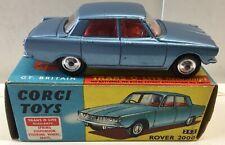 CORGI 252 ROVER 2000. NEAR MINT IN EXCELLENT  BOX