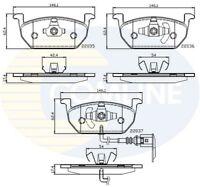 Comline Front Brake Pad Set CBP12224  - BRAND NEW - GENUINE - 5 YEAR WARRANTY