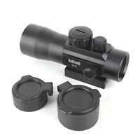 2x42 Green Red Dot Sight Scope Tactical Optics Riflescope 20mm 11mm Rifle TS