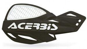 ACERBIS UNIKO VENTED HAND GUARDS BLACK/WHITE Motocross Honda CRF250R CRF450R