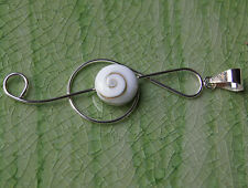 Shiva Eye Pendant Sterling Silver