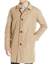 NWT Tumi Men's Raincoat XXL Summit Mackintosh Packable Khaki Tan MSRP $325