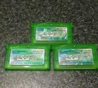 NINTENDO POKEMON Emerald [ 3 pieces sets ] Game Boy Advance GBA Japan Used