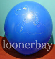 """Big Giant Olympic 45"""" balloons with print """"Heavenly"""""""
