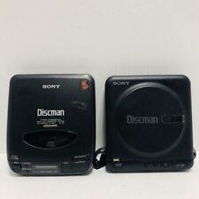 Sony Discman D-2 D-33 Cd Compact Player Lot - Broken Parts Repair