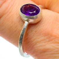 Amethyst 925 Sterling Silver Ring Size 9.25 Ana Co Jewelry R28946F
