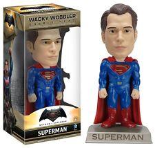 BATMAN vs SUPERMAN Figura SUPERMAN Bobble Head 15cm Originale FUNKO Wobbler DC