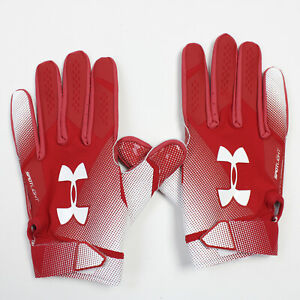 Under Armour Gloves - Receiver Men's Red New with Tags