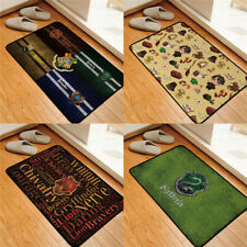Harry Potter Floor Mat Hogwarts Four Colleges Symbol Home Area Rug Square Carpet