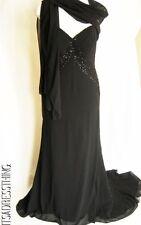 No Pattern Sleeveless Ballgown Dresses Size Petite for Women