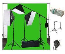 Fancierstudio 10 x 20 Muslin Chromakey Green Screen Background Support Stand Kit