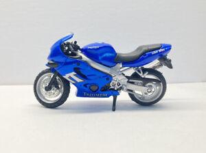 Triumph TT 600 Blue Motorcycle Maisto 1:18 Diecast Motorbike Toy Loose