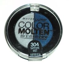 Maybelline Eye Studio Color Molten Eyeshadow Duo SAPPHIRE MIST 304 Sealed