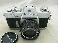 Bell & Howell Auto 35 Reflex Design 237 (Canon EX EE QL) w/ Canon 50mm f1.8 Lens