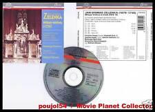 """ZELENKA """"Missa Votiva 1739"""" (CD) W.Wehnert 1992"""