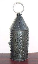 "Paul Revere Candle Lantern Tin Candle Lantern 15"""