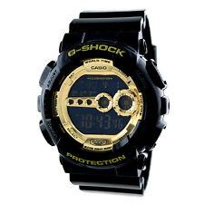 Casio G-Shock Black × Gold Men's Watch GD-100GB-1