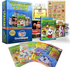 BookLingual Complete Spanish for Kids Total Learning Course (ages 2-8)