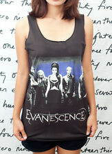 Evanescence Amy Lee Rock Roll T14 Music WOMEN T-SHIRT DRESS Tank TOP Size S M