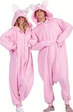 PENELOPE PINK PIG PIGGIE HOG BOAR ADULT COSTUME ANIMAL PAJAMAS COSTUMES JUMPSUIT