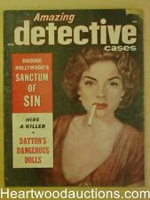 """Amazing Detective"" March 1957"