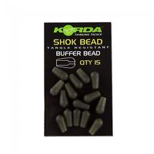 Korda NEW Carp Fishing Shock Shok Buffer Bead *Pack Of *15* - KSK