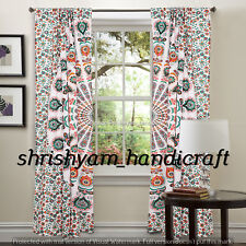 Boho Decorative Curtains window Drapery Indian Mandala Handmade Wall Tapestry