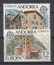 Briefmarken Europa Andorra (sp. Post) CEPT ** 1978 Michel 115-116 Versand 0 EUR