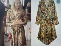 Zadig&Voltaire Roumi Deluxe Dress. seen on Naomi Watts. Rrp £500 S 10/12
