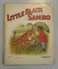 LITTLE BLACK SAMBO 1921 Linenette Illustrated by Mary L. Russell