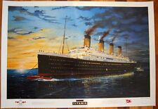 TITANIC LIMITED EDITION PRINT SIGNED ARTIST RANDALL WILSON- NIGHT VIEW