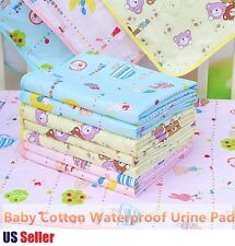 Baby Boys Girls Infant Toddler Reusable Waterproof Urinal Mat Changing Pad Cover