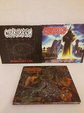 3 Opprobrium CDs-Beyond the Unknown, Mandatory Evac, Serpent Temptation.........