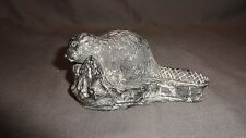 Collectable Vintage Inuit Wolf Sculptures Canada Figure - Beaver