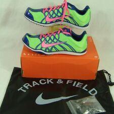 New Womens 12 NIKE Zoom W 3 Spike Track Running Shoes $75 425906-364