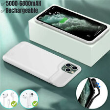 6800mAh Battery Charger Case For iPhone 11/12 Pro Max Power Bank Charging Cover