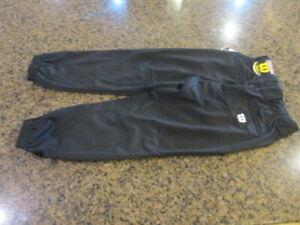 Wilson Women's Fast pitch Softball Pants WTC7609 BO Medium NWT Black
